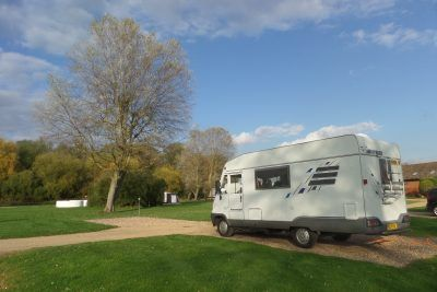 Parked at St Neots Camping Site