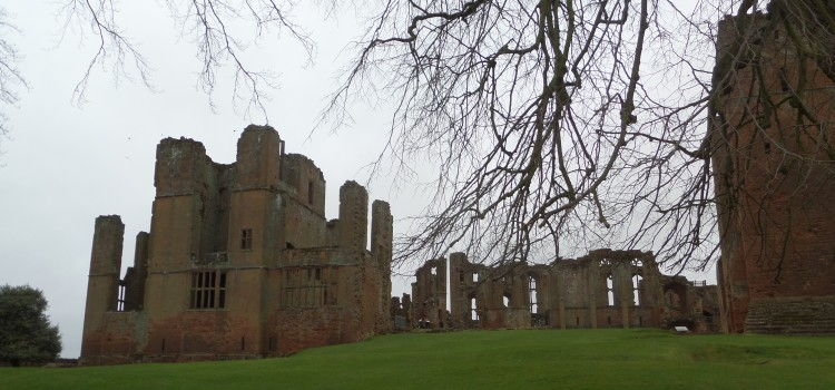 A grey windy day at Kenilworth