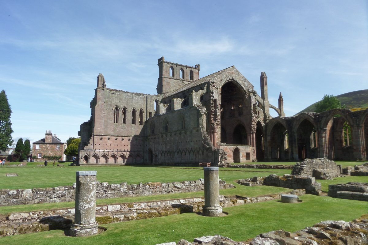 Melrose Abbey - well worth a stop
