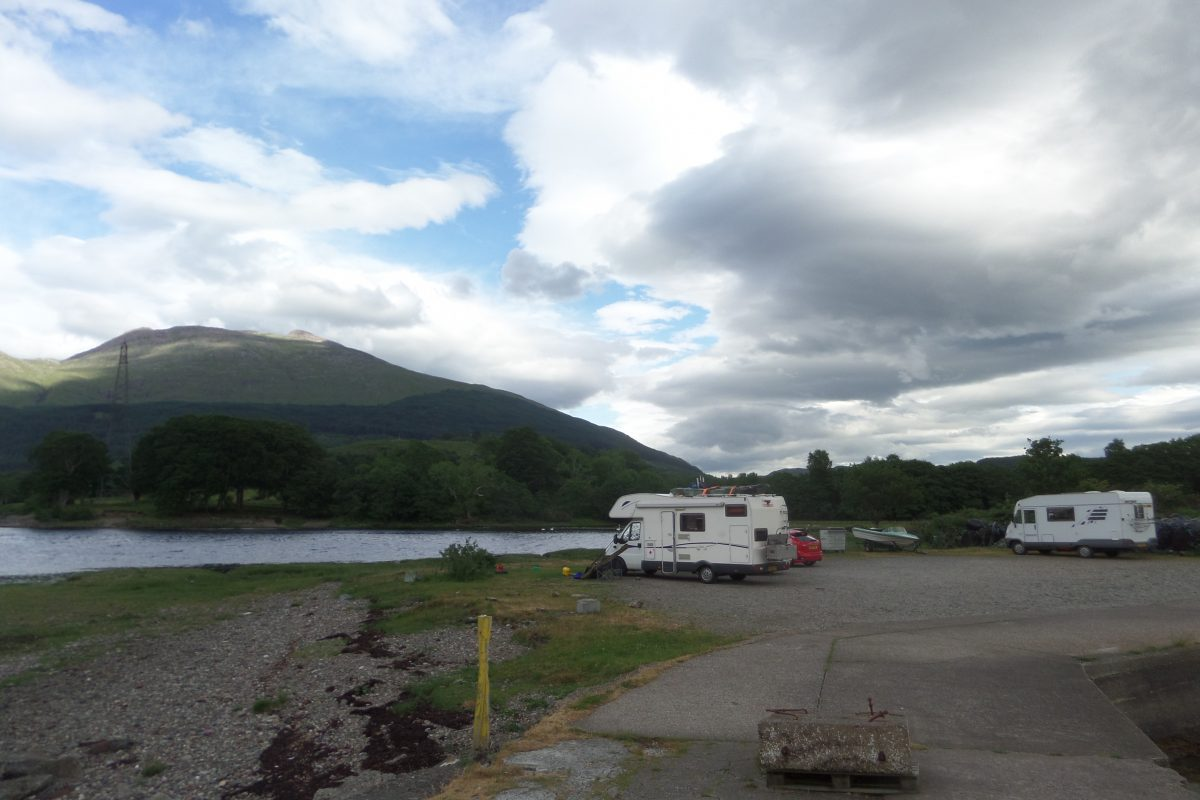 A glorious and peaceful location on Loch Etive.