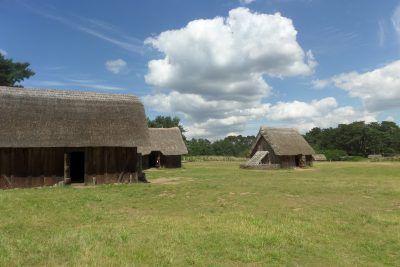 West Stow Anglo Saxon Village near Bury St Edmunds