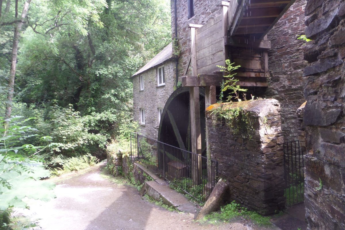 The Waterwheel at Cothele Mill