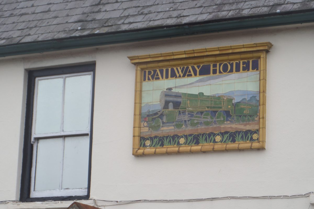 Railway Hotel detail - Wareham
