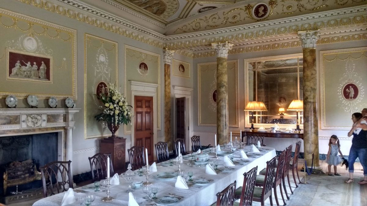 The Ballroom at Basildon Park
