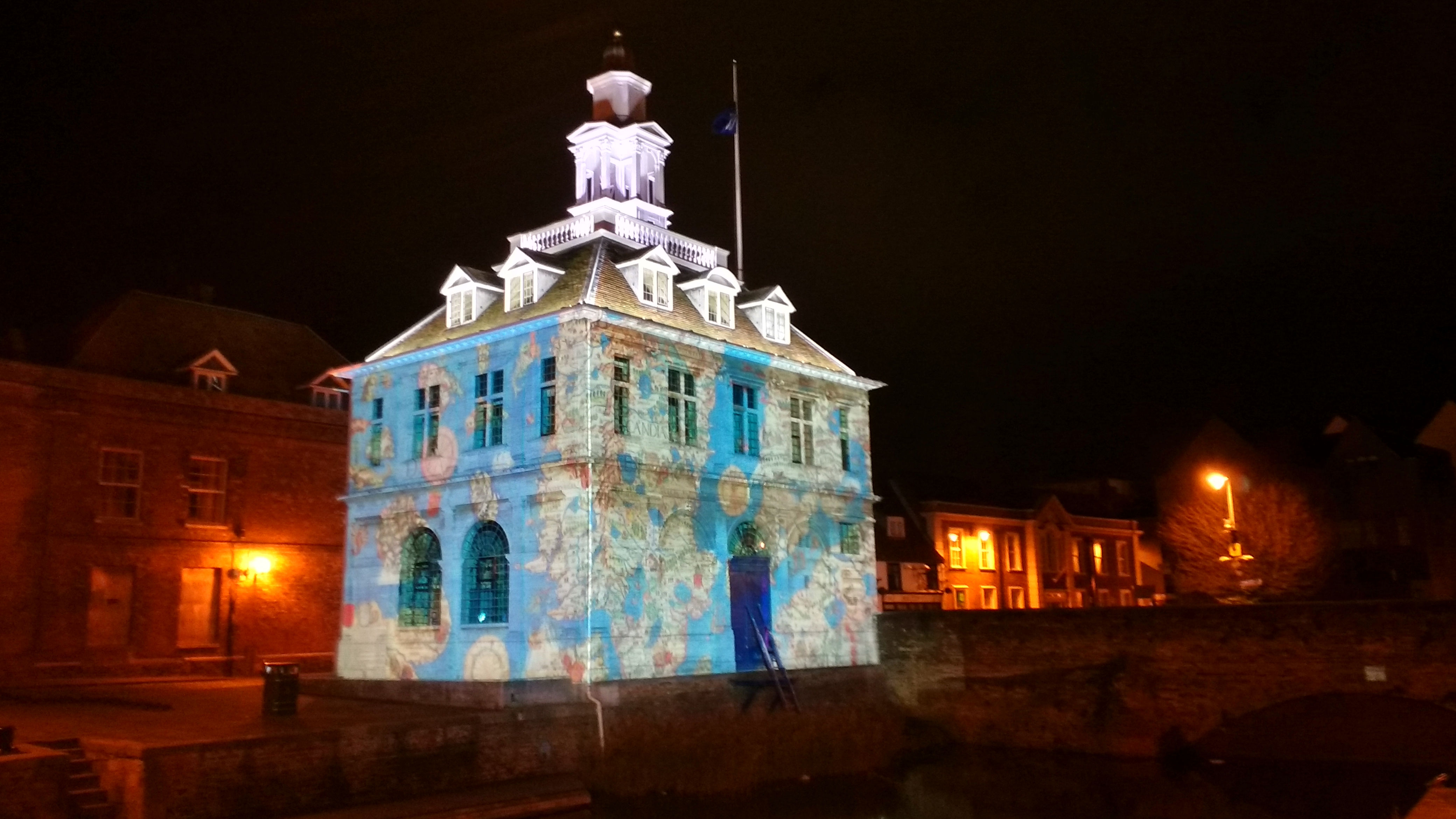 Lynn Lumiere Light Show At Kings Lynn Custom House The Crumbly Gappers
