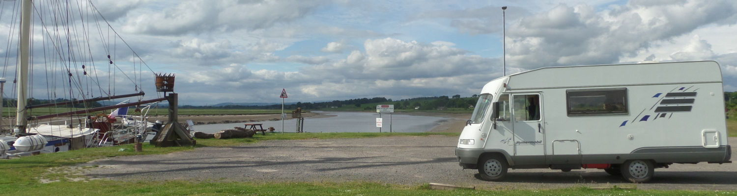Glencaple Pier near Dumfries