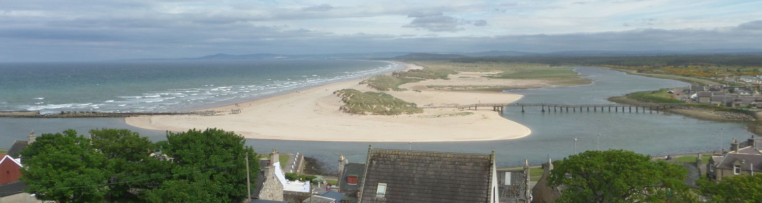 Lossiemouth looking east