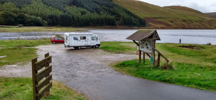 Bannockburn disappoints and a rough drive through the Southern Uplands
