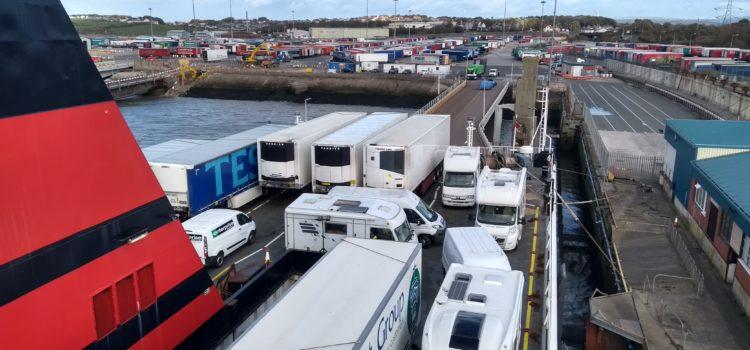 Across the Irish Sea to Douglas