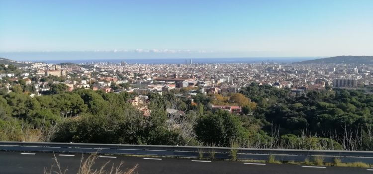 Barcelona, views and inland